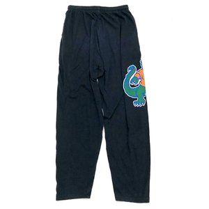 ZUBAZ Men's Black UF Gators Graphic Sweatpants Lg